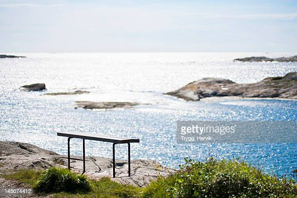 A bench in the archipelago.