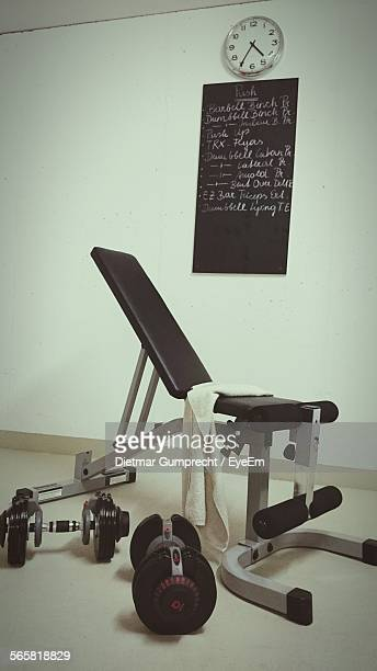 Bench Press And Dumbbells At Home