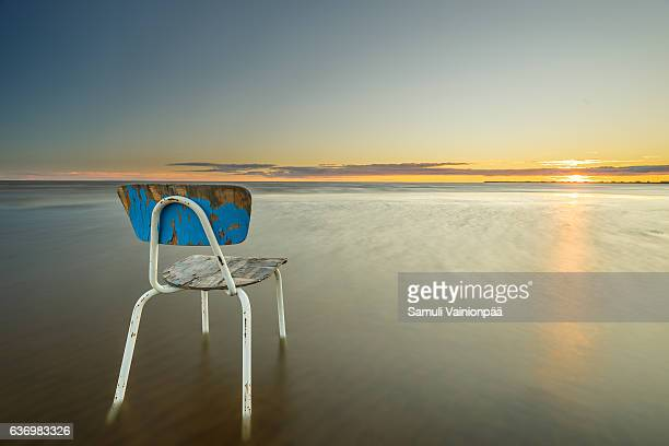 Bench with a seaview