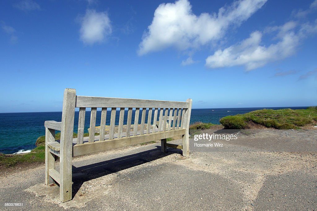 Bench with a view : Stock Photo