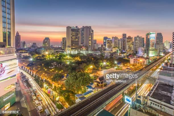 benchasiri park in bangkok - nopz stock pictures, royalty-free photos & images
