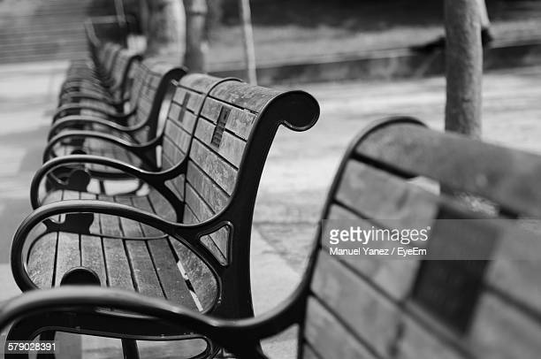 Benches In Row
