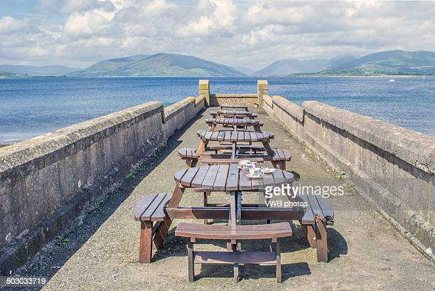 Benches, looking out over Bogany Point,  Rothesay