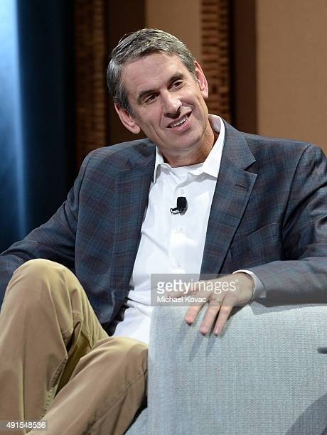 Benchmark's Bill Gurley speaks onstage during Are We About to Take a Bath Debating the Bubble Then and Now at the Vanity Fair New Establishment...