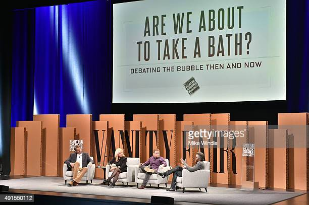 Benchmark's Bill Gurley, The RealReal Founder and CEO Julie Wainwright, Slack Co-founder and CEO Stewart Butterfield and New York Times' Nick Bilton...