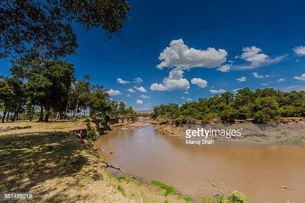 Bend in Mara River