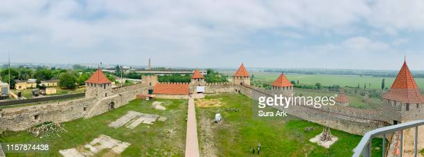 bendery fortress, bendery, transnistria. - moldova stock pictures, royalty-free photos & images