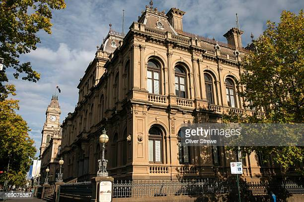 bendigo historical buildings - bendigo stock pictures, royalty-free photos & images