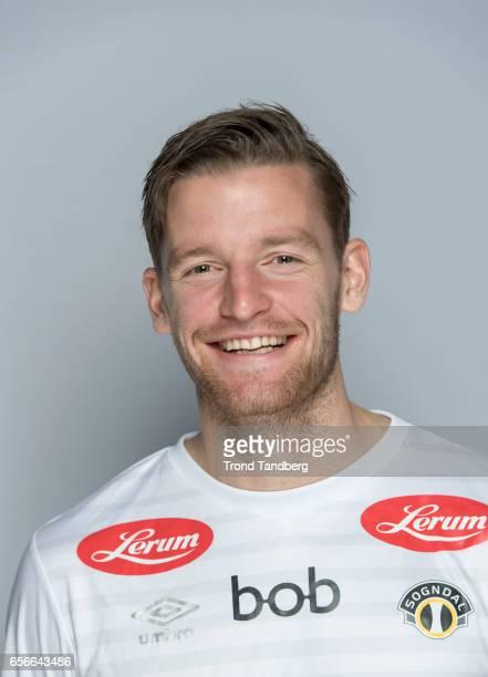 Bendik Bye of Team Sogndal Fotball during Photocall on March 22 2017 in Sogndal Norway