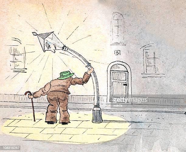 bending street light - Das Licht beugen