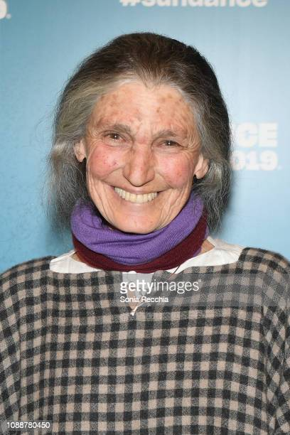 Benedetta Barzini attends the The Disappearance Of My Mother Premiere during the 2019 Sundance Film Festival at Egyptian Theatre on January 25 2019...