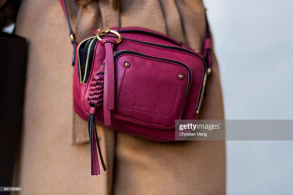 Street Style: January 15 - Milan Men's Fashion Week Fall/Winter 2017/18 : Photo d'actualité