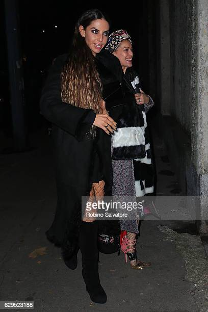 Benedetta Mazzini arrives at Fondazione IEO - CMM Christmas Charity Dinner at Villa Necchi on December 13, 2016 in Milan, Italy.