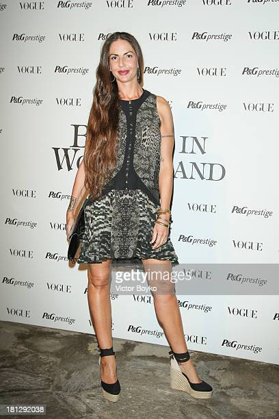 Benedetta Mazzini attends 'Beauty In Wonderland' during Milan Fashion Week Womenswear Spring/Summer 2014 on September 19 2013 in Milan Italy