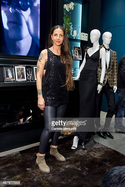 Benedetta Mazzini attends Dsquared2 St Moritz New Store Opening Cocktail Reception on February 8 2014 in St Moritz Switzerland