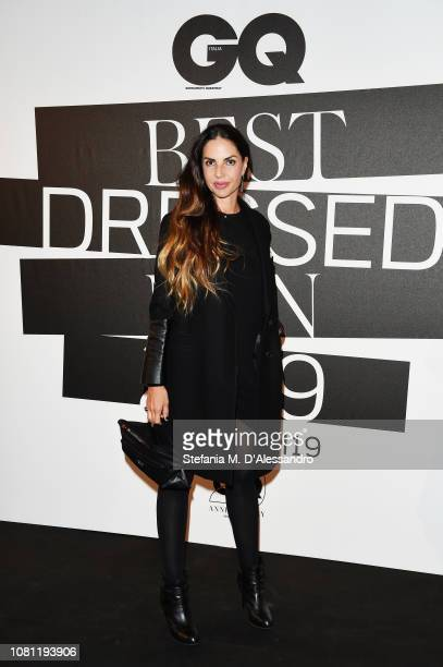 Benedetta Mazzini attends the GQ Best Dressed Men 2019 during Milan Menswear Fashion Week Autumn/Winter 2019/20 on January 11 2019 in Milan Italy