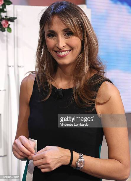 Benedetta Parodi attends 'Quelli Che Il Calcio' Italian TV Show on October 27, 2013 in Milan, Italy.