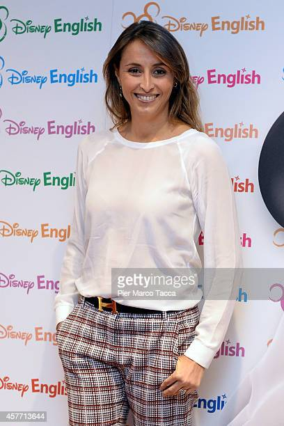 Benedetta Parodi attends the Disney Channel Photocall on October 23 2014 in Milan Italy