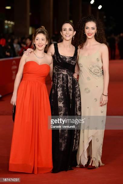 Benedetta Perego Manuela Parodi and Daria Pascal Attolini attends 'La Luna Su Torino' Premiere during The 8th Rome Film Festival on November 9 2013...