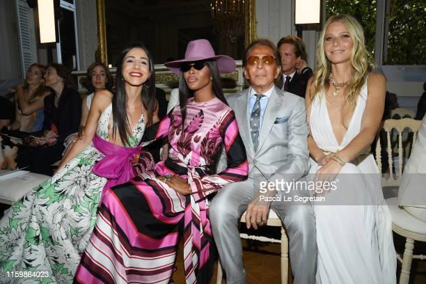 Benedetta Piccioli, Naomi Campbell, Valentino Garavani and Gwyneth Paltrow attend the Valentino Haute Couture Fall/Winter 2019 2020 show as part of...
