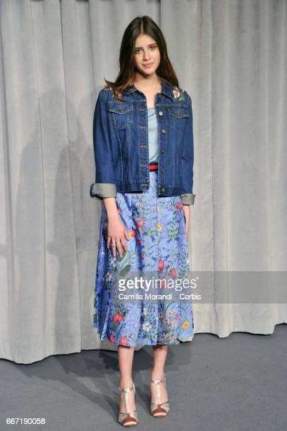 Benedetta Porcaroli attends a photocall for 'Tutto Puo' Succedere' on April 11 2017 in Rome Italy