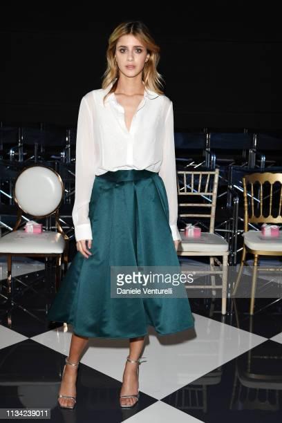Benedetta Porcaroli attends Atelier EME Fashion Show on March 07, 2019 in Verona, Italy.