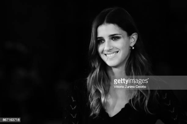 Benedetta Porcaroli walks a red carpet for 'Una Questione Privata' during the 12th Rome Film Fest at Auditorium Parco Della Musica on October 27 2017...