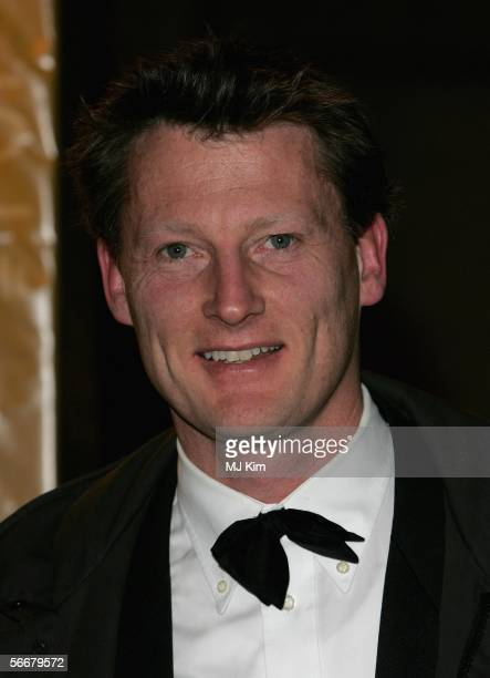 Benedict Allen arrives at the Morgan Stanley Great Britons '05 awards ceremony at the Guildhall on January 26 2006 in London England The second...