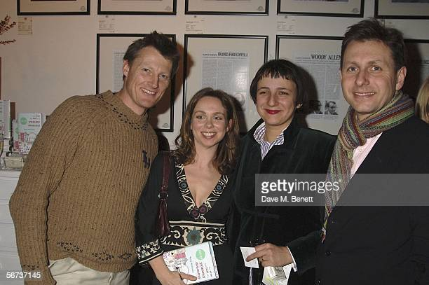 Benedict Allen Polly Williams Selina Blow and Charles Levenson attend The Rise and Fall of Yummy Mummy Book Launch Party at the Proud Gallary on...
