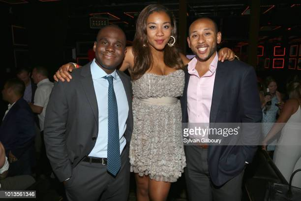 Benedict Anoo Arielle Patrick and Andrew Patrick attend 12th Annual Summer Social on August 8 2018 in New York City