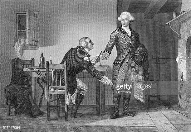 Benedict Arnold Treason of Arnold He persuaded Andre to conceal the papers in his boot