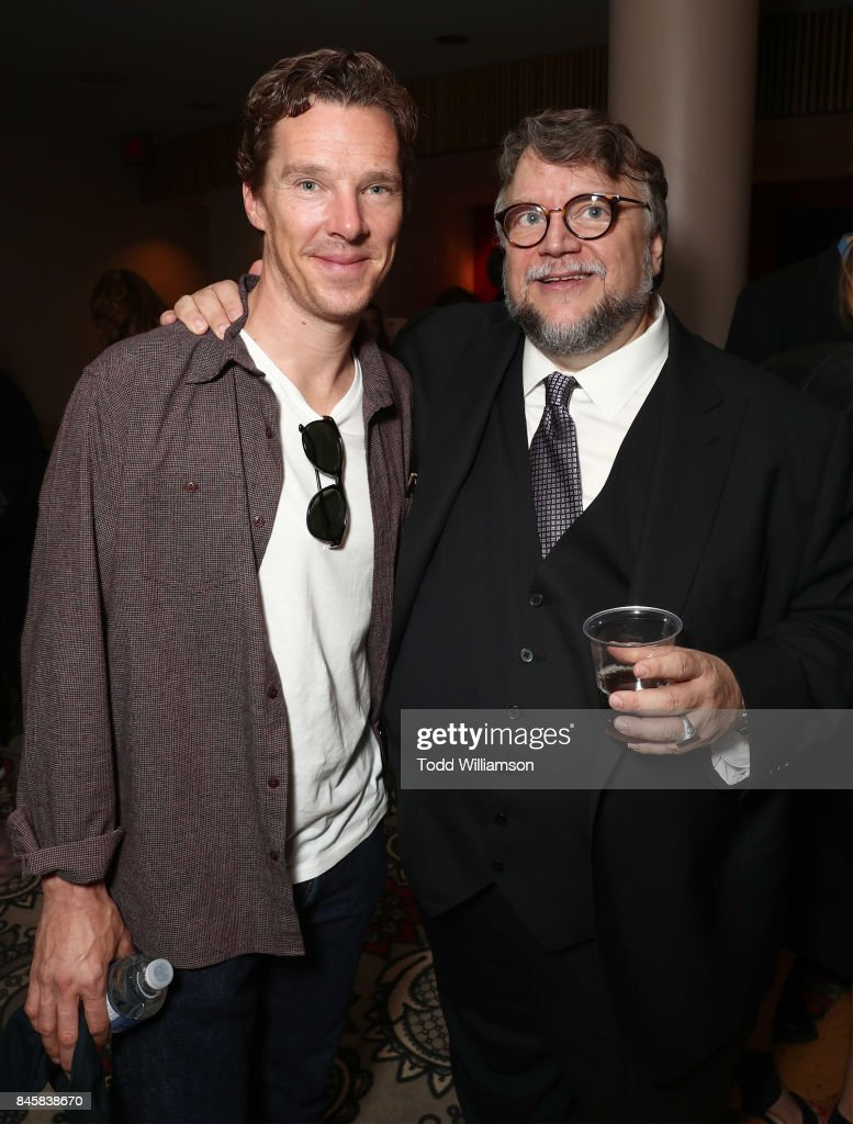 Benedict Cumberbatch and Director Guillermo del Toro attend Fox Searchlight's 'The Shape Of Water' TIFF Screening at Elgin and Winter Garden Theatre Centre on September 11, 2017 in Toronto, Canada.