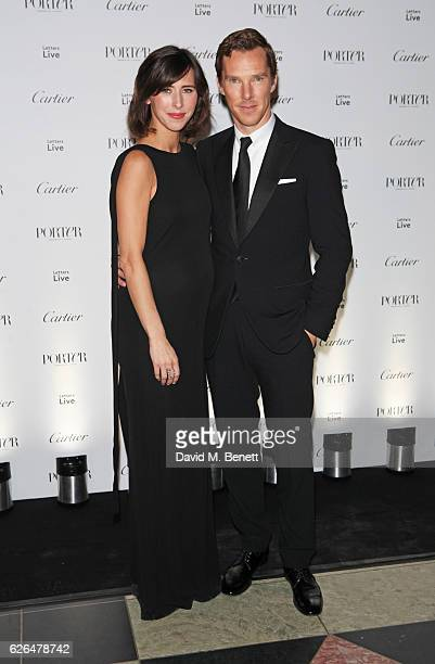 Benedict Cumberbatch and Sophie Hunter attend as PORTER hosts a special performance of Letters Live in celebration of their Incredible Women of 2016...