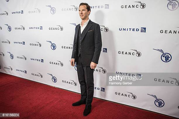 Benedict Cumberbatch arrives at GEANCO Foundation's Annual Hollywood Fundraiser at Spectra by Wolfgang Puck at the Pacific Design Center on October...
