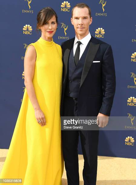 Benedict Cumberbatch arrives at the 70th Emmy Awards on September 17 2018 in Los Angeles California