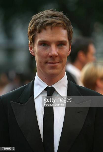 Benedict Cumberbatch arrives at the Atonement UK Premiere at Odeon Leicester Square on September 4 2007 in London England