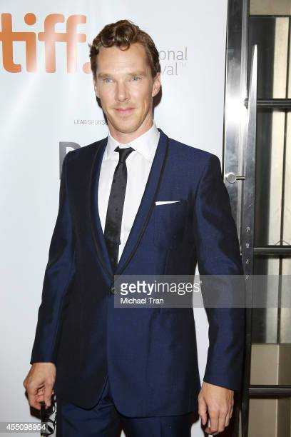 Benedict Cumberbatch arrives at the premiere of The Imitation Game held during the 2014 Toronto International Film Festival - Day 6 held on September...