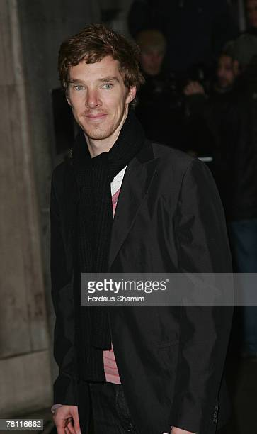 Benedict Cumberbatch arrives for The Evening Standard Theatre Awards at The Savoy London November 272007 in London England