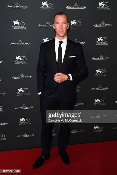 Benedict Cumberbatch arrives for the Jaeger-LeCoultre Gala Dinner during the 75th Venice International Film Festival at Palazzo Pisani Moretta on...