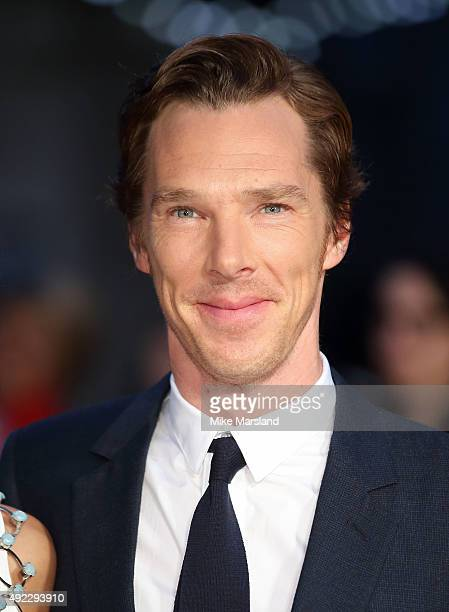 Benedict Cumberbatch attends a screening of 'Black Mass' during the BFI London Film Festival at Odeon Leicester Square on October 11 2015 in London...