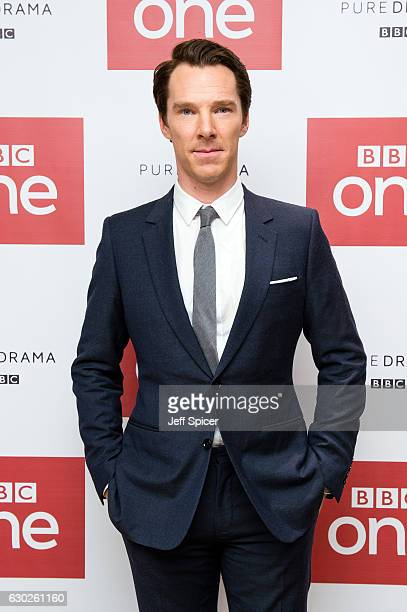 Benedict Cumberbatch attends a screening of the Sherlock 2016 Christmas Special at Ham Yard Hotel on December 19, 2016 in London, England.