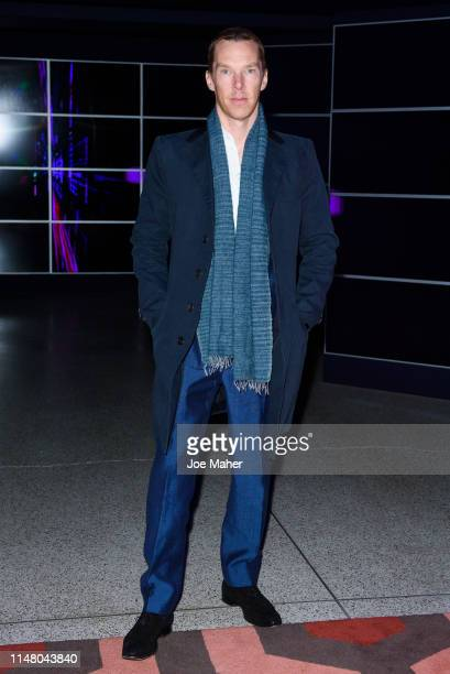 "Benedict Cumberbatch attends a VIP dinner as part of the ""Stanley Kubrick: The Exhibition"" at The Design Museum on May 09, 2019 in London, England."