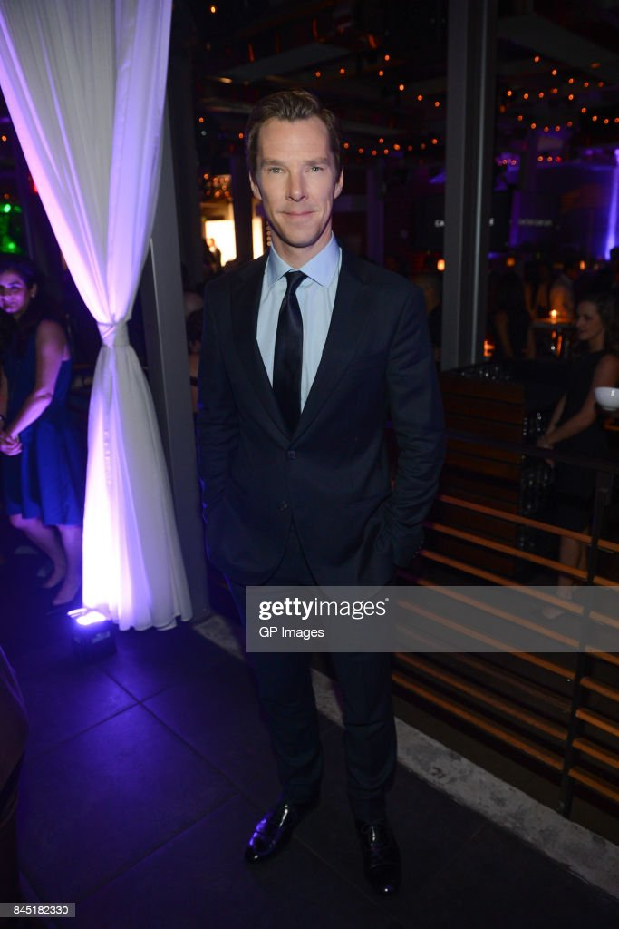Benedict Cumberbatch attends Alfonso Gomez-Rejon's 'The Current War' TIFF Premiere Party Hosted by Cactus Club Cafe And Johnnie Walker Black Label at First Canadian Place on September 9, 2017 in Toronto, Canada.
