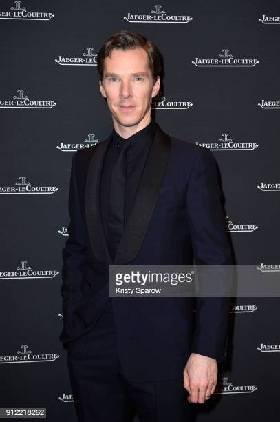 Benedict Cumberbatch attends JaegerLeCoultre Polaris Gala Evening at the SIHH 2018 at Pavillon Sicli on January 15 2018 in Les Acacias Switzerland