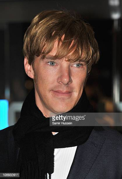 Benedict Cumberbatch attends the American Express Gala Screening of 'The King's Speech' during the 54th BFI London Film Festival at the Odeon...