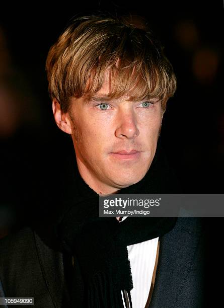 Benedict Cumberbatch attends the American Express Gala Screening of 'The King's Speech' during the 54th BFI London Film Festival at Odeon Leicester...