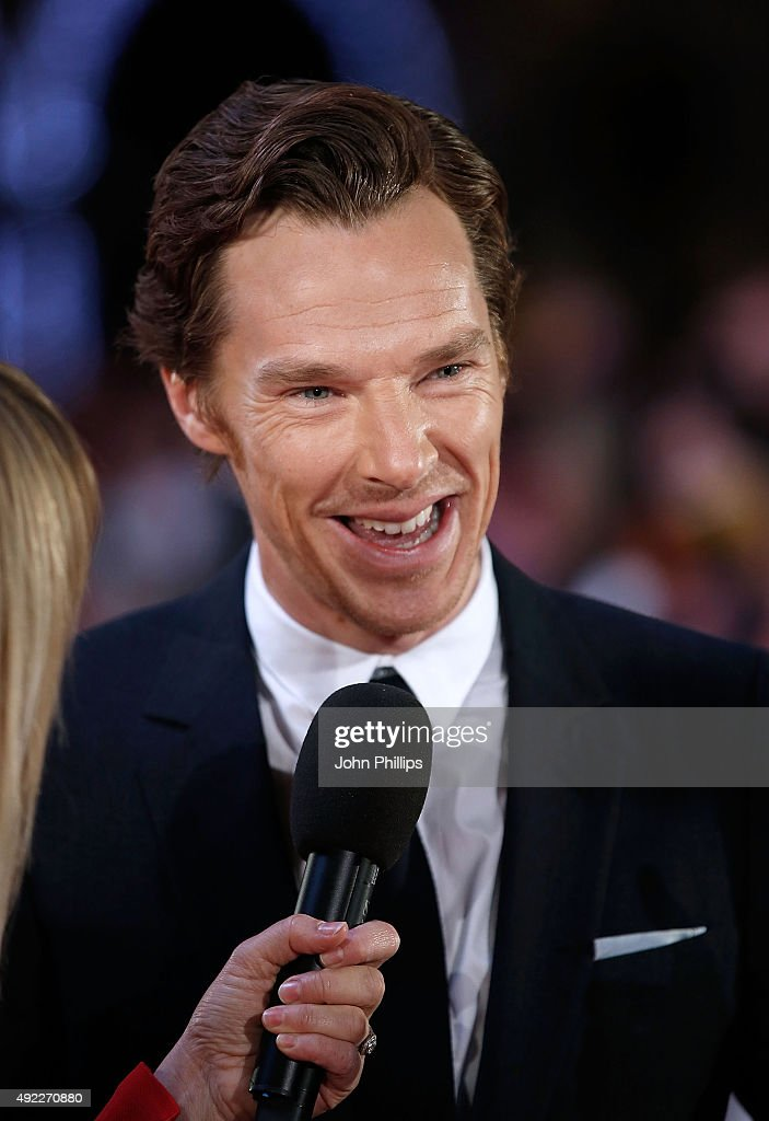 Benedict Cumberbatch attends the 'Black Mass' Virgin Atlantic Gala screening during the BFI London Film Festival, at Odeon Leicester Square on October 11, 2015 in London, England.