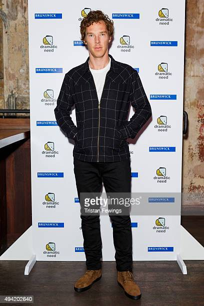 Benedict Cumberbatch attends 'The Children's Monologues' Danny Boyle's production inspired by children from rural South Africa in aid of his charity...
