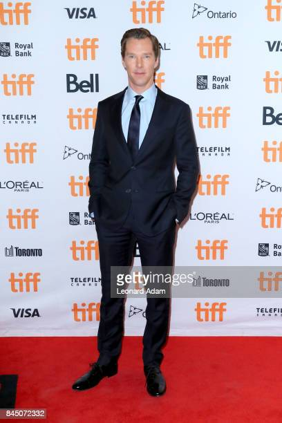 Benedict Cumberbatch attends The Current War premiere during the 2017 Toronto International Film Festival at Princess of Wales Theatre on September 9...
