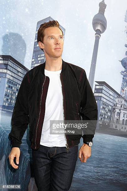 Benedict Cumberbatch attends the 'Doctor Strange' photocall at Soho House on October 26 2016 in Berlin Germany
